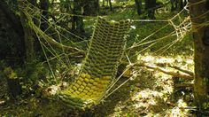 Build A Wooden Hammock Out Of Branches | Lifehacker Australia