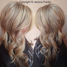 Highlights with lowlights! Gorgeous!