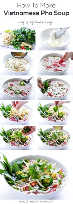 PHO SURE! Now that the weather is cooler, we are craving soup. Did you know that delicious Vietnamese Pho Soup is also deceptively easy to make? Vietnamese Pho Soup Recipe, Vietnamese Food, Pho Recipe, Korean Food, Soup Recipes, Cooking Recipes, Lunch Recipes, Japanese Recipes, Vegetarian Recipes