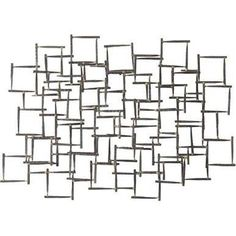 Arteriors 6347 Ecko Iron Wall Sculpture