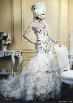 MVW Inspiration Gown - by Michael Cinco