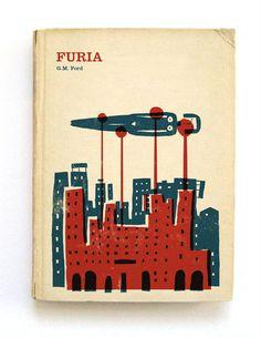 Furia book cover illustration by Nomono