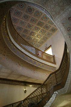 Isfahan (Esfahan),Iran, Abassi Hotel