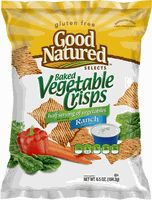 GF Good Natured Baked Vegetable Crisps, Ranch