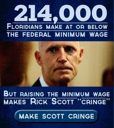 Rick Scott makes ME 'cringe'