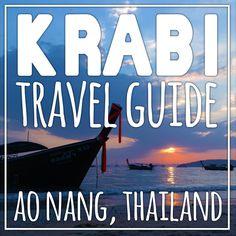 The Krabi Thailand Travel Guide Thailand Travel Guide, Philippines Travel, Caribbean Beach Resort, Beach Resorts, Krabi Town, Thai Travel, Thai Islands, Railay Beach, Ao Nang
