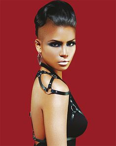1e4451c69b68e Cassie for the cover of Idoll Magazine #2011 Hair Journey, Sleek  Hairstyles, Shaved