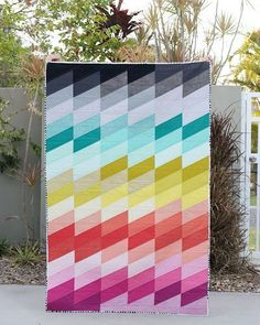 Making Waves Quilt pattern by Bonjour Quilts