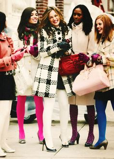 Gossip Girl, Winter Fashion, Blair Waldorf - Miya Style World Gossip Girl Blair, Gossip Girl Mode, Estilo Gossip Girl, Blair Waldorf Gossip Girl, Gossip Girl Outfits, Gossip Girl Fashion, Gossip Girls, Gossip Girl Clothes, Gossip Girl Uniform