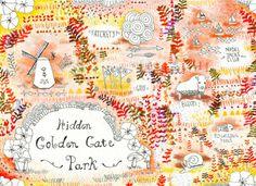 Golden Gate Park's Hidden Gems - Maps of San Francisco