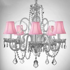 Best pink chandelier shades theplanmagazine minimalist home gallery murano venetian style all crystal chandelier with shades jcpenney aloadofball Choice Image