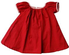 sugar city journal: the cottage dress -inspiration Little Red Dress, Little Dresses, Cute Dresses, Stylish Kids, Kid Styles, Sewing For Kids, Clothing Patterns, Baby Dress, My Girl