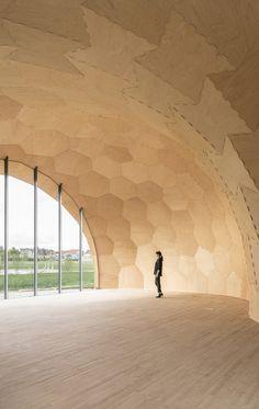 Landesgartenschau Exhibition Hall / ICD/ITKE/IIGS University of Stuttgart