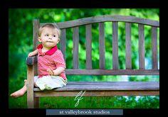 outdoor baby pictures | Toddler Portraits (Glenwood, Maryland Children's Photographer)
