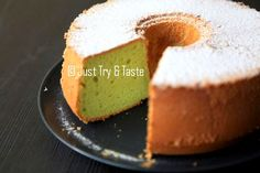Just Try & Taste: Pandan Chiffon Cake & Tips Sukses Membuatnya Pandan Chiffon Cake, Cake Receipe, Resep Cake, Cheesecake, Pudding, Treats, Tips, Desserts, Food