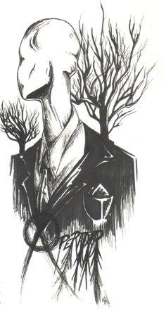 The Operator (The Slender Man) by ChillyAcademicIV.deviantart.com