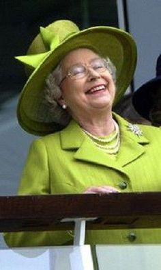 Queen Elizabeth II. Great photo!: