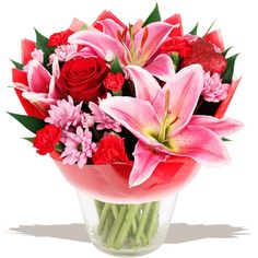 The beautiful Passionata Valentine's bouquet of flowers www.eden4flowers.co.uk