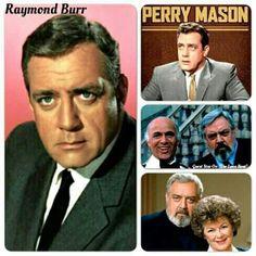 Raymond Burr, Perry Mason, Tv Shows, Board, Planks, Tv Series