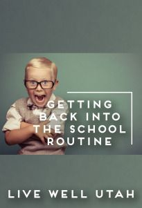 Ten tips for helping Families get back in the groove as they prepare for the upcoming school year.