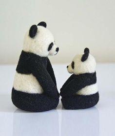 Panda Bear Felt Toys