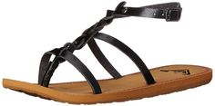 Roxy Women's Crete Gladiator Sandal => Find out more details by clicking the image : Gladiator sandals