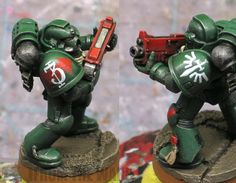 From the Warp: How to paint Dark Angels fast and dark