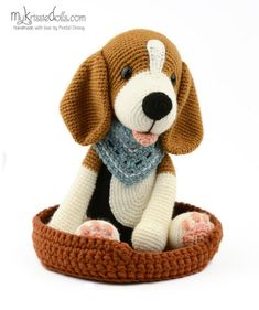 100 Amigurumi Crochet Dogs Patterns - Amigurumi World Amigurumi knitting toy dog models, all pretty nice toy dog models knitting recipes are waiting for you. In this article we will introduce you the best models of amigurumi crochet dog patterns. Bunny Crochet, Cute Crochet, Crochet Animals, Crochet Dolls, Crochet Dog Patterns, Free Amigurumi Patterns, Amigurumi Tutorial, Stuffed Animal Patterns, Stuffed Animals