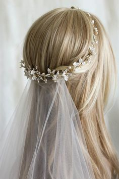 For the love of mixed metals | Boho bridal headpiece 6