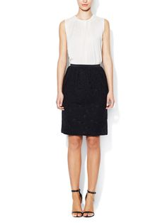 Lace Skirt with Slip Pockets LANVIN