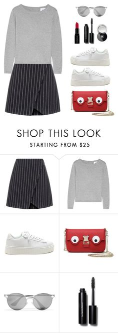 """""""#130 Sweater Weather"""" by konstantina00085 ❤ liked on Polyvore featuring New Look, Banjo & Matilda, Prada, Smashbox and Bobbi Brown Cosmetics"""
