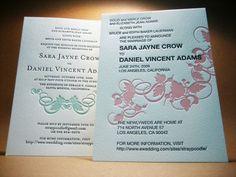 Wedding Invitations | Printing, Letterpress, New York 10013
