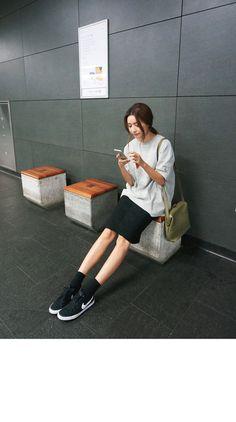 Love the look #Korean Fashion