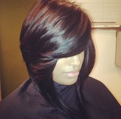 20 Bob Styles that Will Make You Head out and Buy Some Scissors Right Now [Gallery] - Modern Love Hair, Great Hair, Gorgeous Hair, Weave Hairstyles, Pretty Hairstyles, Black Hairstyles, Pompadour, Natural Hair Styles, Short Hair Styles