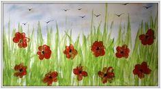 Vlčí máky - zvládnou i menší děti Art For Kids, Children, Prints, Image, Art For Toddlers, Kids, Art Kids, Child, Babys