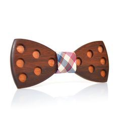 If you're looking for a unique accessory to finish out that wardrobe and add a smart look, look no further than the wooden bow tie. Stylish,