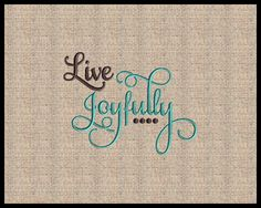 Live Joyfully Ecclesiastes 9:9 Machine Embroidery Design Scripture Embroidery Design Bible Verse 4x4 5x7 by AProverbs31Wife on Etsy https://www.etsy.com/listing/512507052/live-joyfully-ecclesiastes-99-machine