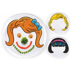 Dinner Do's- Set of 3 Hairstyle Plates