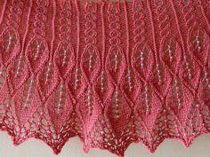 Kudzu Shawlette by Rachel Henry, free pattern on Ravelry.
