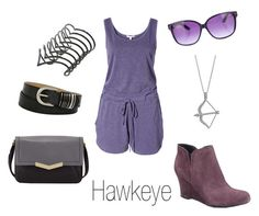 """Hawkeye"" by ja-vy ❤ liked on Polyvore featuring Sundry, BERRICLE, Time's Arrow, Noir, Børn, Relic and Jimmy Choo"