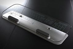 Multi-Touch Glass Keyboard