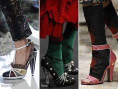 Fall/ Winter 2016-2017 Shoe Trends: Shoes With Ankle Straps