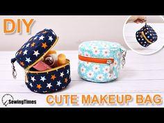 Como fazer Bolsa de maquiagem fofa – passo a passo Cute Makeup Bags, Small Makeup Bag, Diy Makeup, Makeup Ideas, Makeup Tips, Makeup Products, Gold Makeup, Makeup Hacks, Prom Makeup