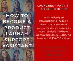 LAUNCHES - PART 1 - SUCCESS STORIES