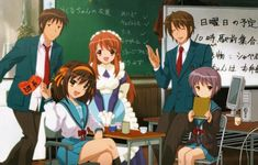 The Melancholy Of Haruhi Suzumiya Season 3 News: Plot Details Revealed Based On 'The Disappearance Of Nagato Yuki-Chan' Manga As Anime Show Will Be Released On 2015 Rumored Haruhi Suzumiya, Bff Drawings, Kyoto Animation, Nisekoi, Mecha Anime, Angel Beats, Blue Exorcist, Light Novel, Cultura Pop
