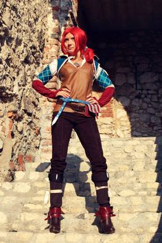 The Witcher - Triss Merigold Cosplay #cosplay #triss #merigold #witcher3
