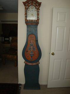 Swedish Tall Case Mora Clock