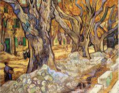 Vincent van Gogh - Large Plane Trees, 1889, oil on canvas