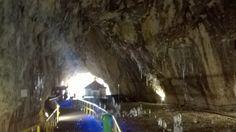 Ialomita Monastery, built at the entrance of Ialomita Cave up into the Carpathian Mountains Carpathian Mountains, Romania, Cave, Entrance, Travel Destinations, Building, Painting, Beautiful, Road Trip Destinations