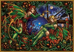 Christmas Fantasy by Candra on DeviantArt